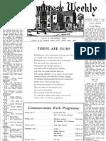 1953 St. Ambrose High School Senior Student Newspaper