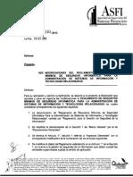 Circular ASFI 193 Seguridad Informatica
