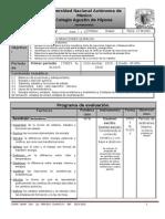 PLAN Y PROGRAMA DE EVAL QUIMICA IV A-I,II  1P  2015-2016.docx