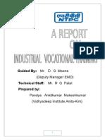 Ankit- NTPC Training Report