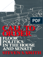 Smith, Steven 1989 - Call to Order (Ch 2 - Revolution in the House)