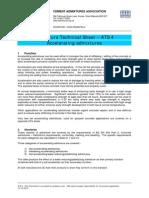 ATS 4 Accelerating Admixtures