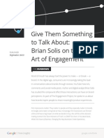 168336432 Give Them Something to Talk About Brian Solis on the Art of Engagement 140906110605 Phpapp01