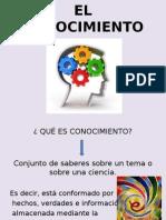 EL CONOCIMIENTO CLASE.ppt