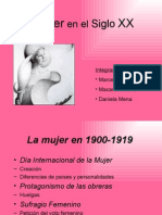 La mujer en el siglo XX