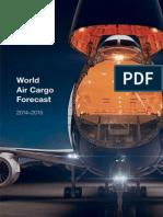World Air Cargo Forecast 2014 2015