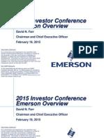 2015 Investor Conference FINAL ONLINE Farr