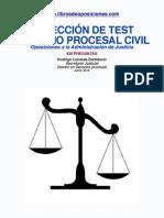 Test Derecho Procesal Civil