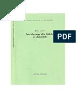 Introduzione Alla Politica Di Aristotele