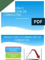 Tecnicas Para Reducir Conductas