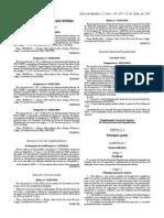 RGSGNR regulamentos serviços
