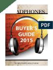 Headphones Buyer's Guide 2015