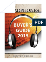 Headphones Buyer's Guide 2015