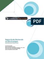 ENP Ecole Doctorale 2007 2008