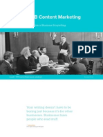 State of B2B Content Marketing 2015