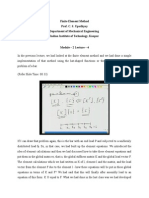 Finite Element Method Mod-2 Lec-4.doc