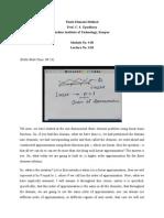 Finite Element Method Mod-3 Lec-1.doc