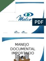 Manejo Documental de Importaciones