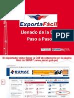 Declaracion Exporta Facil