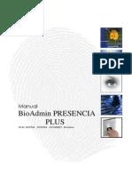 Manual BioAdmin PLUS 2.0