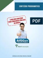 Alfacon Tecnico Do Inss 1 Conteudo Programatico