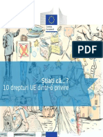 10 Drepturi Cetateni Ue