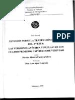Estudios Avesta