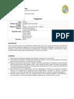 programa IIC2233 2015 2