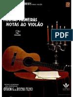 Minhas Primeiras Notas Ao Violão 2º Volume
