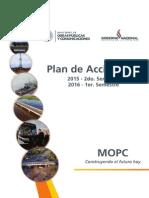 Plan de Acción Vial - MOPC