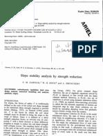 Slope Stability Geotechnique [Dawson Roth Drescher]
