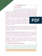 Ejemplo de INTERVENCION Foro Disciplinario