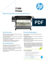 HP Designjet T1300 PostScript® ePrinter