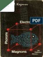 Electrons, Phonons, Magnons [Kaganov M.I., MIR]