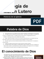 Teología de Martín Lutero