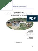 Contaminacion Rio Puyango Tumbes