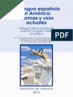 la lengua española en america normas y usos  Albelda y Briz  dos orillas 2010