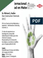 Sostenibilidad en Matriales UN Agosto 13 2015