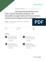 Marcondes Et Al 2014 Aramides Mangle