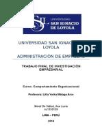 Trabajo Final Comportamiento Organizacional