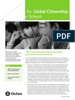 Oxfam Education for Global Citizenship a Guide for Schools