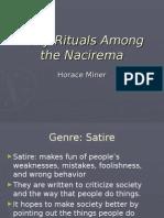 body rituals among the nacirema1