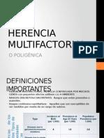 Herencia Multifactorial U
