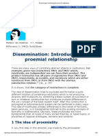 Dissemination_ Introducing the Proemial Relationship