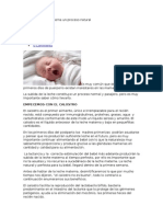 Calostro y Leche Materna Un Proceso Natural