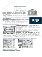 SAP CO Material