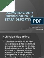 Alimentacion y Nutricion en La Etapa Deportiva(1)
