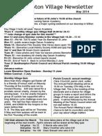 Quidhampton Village Newsletter May 2014