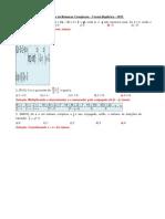 Gabarito de Numeros Complexos Forma Algebrica Edu 1