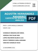 AGUSTÍN Hernandez